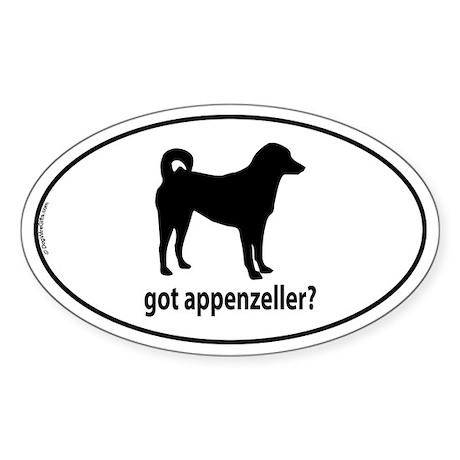 Got Appenzeller? Oval Sticker