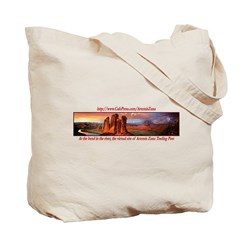 Artemis Zuna Logo 6 Tote Bag