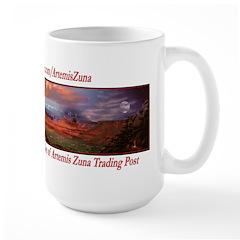 Artemis Zuna Logo 6 Large Mug
