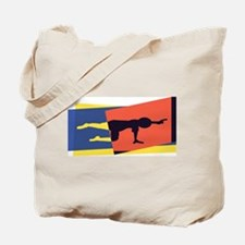 Cat Cow Pointer Tote Bag