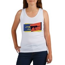 Cat Cow Pointer Women's Tank Top