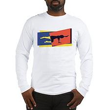 Cat Cow Pointer Long Sleeve T-Shirt