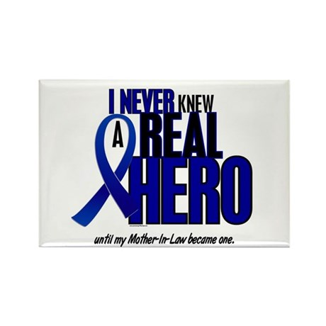 Never Knew A Hero 2 Blue (Mother-In-Law) Rectangle