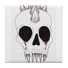 Spike Skull Tile Coaster