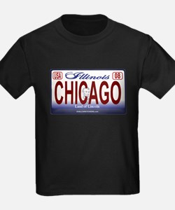 Chicago License Plate T