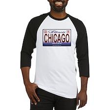 Chicago License Plate Baseball Jersey