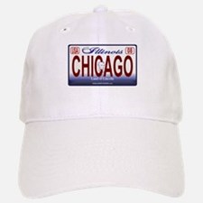 Chicago License Plate Baseball Baseball Cap