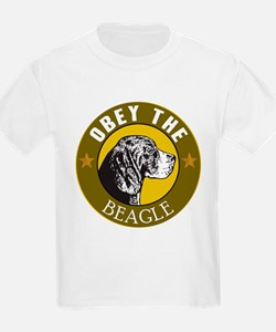 Obey The Beagle T-Shirt