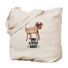 One Little Goat Tote Bag