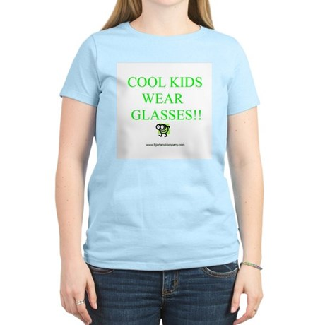 Cool Kids Wear Glasses Women's Light T-Shirt