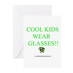 Cool Kids Wear Glasses Greeting Cards (Pk of 10)