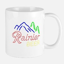 Rainier neon sign 1 Mugs