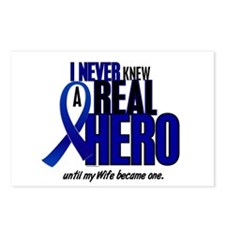 Never Knew A Hero 2 Blue (Wife) Postcards (Package