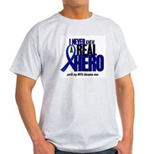 Never Knew A Hero 2 Blue (Wife) T-Shirt