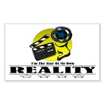 Reality TV Rectangle Sticker