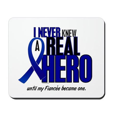 Never Knew A Hero 2 Blue (Fiancée) Mousepad