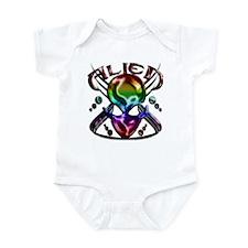 Alienwear Vector Design 16 Infant Bodysuit