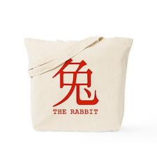 Chinese Zodiac The Rabbit Tote Bag