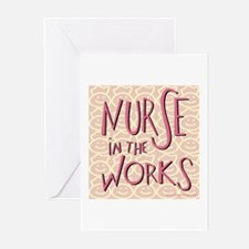 Nurse in the Works Greeting Cards (Pk of 10)