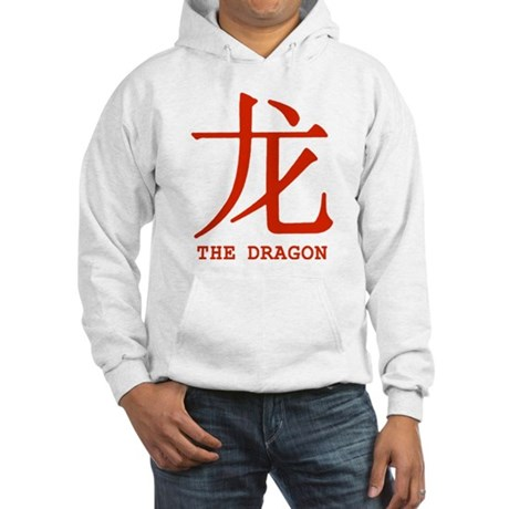Chinese Astrology Dragon Hooded Sweatshirt