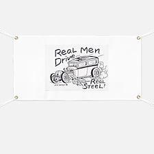 Real Men Banner