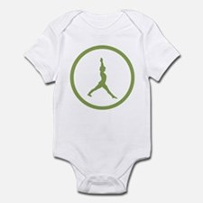 Warrior Pose Infant Bodysuit