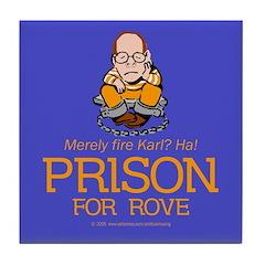 Fire Rove? Prison!! Tile Coaster