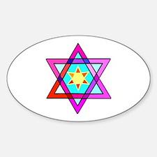 Jewish Star Of David Decal