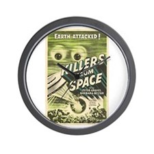 Killers From Space Wall Clock