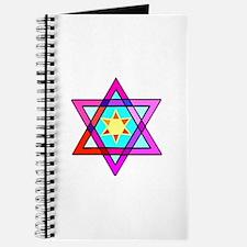 Jewish Star Of David Journal