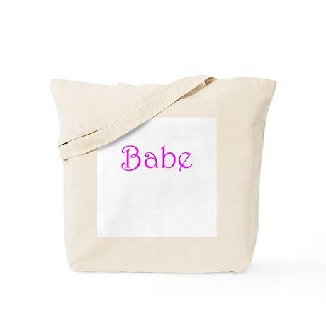 Babe Tote Bag