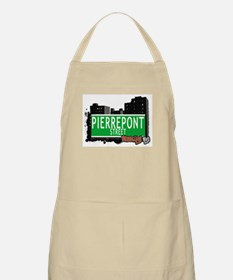 PIERREPONT STREET, BROOKLYN, NYC BBQ Apron