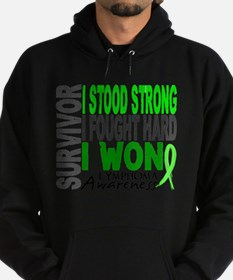 Survivor 4 Lymphoma Shirts and Gift Sweatshirt