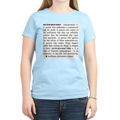 Entrepreneur Women's Light T-Shirt