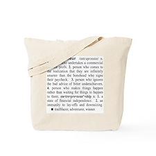 Entrepreneur Tote Bag