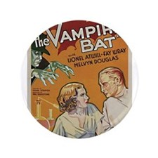 "The Vampire Bat 3.5"" Button"