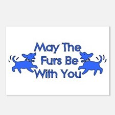 May The Furs Be With You Postcards (Package of 8)