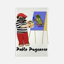 Pablo Pugcasso Rectangle Magnet