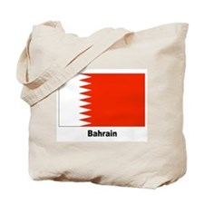 Bahrain Flag Tote Bag