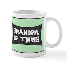 Grandpa of Twins Small Mugs