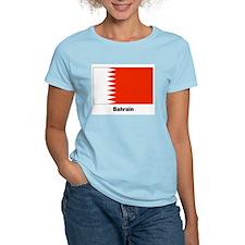 Bahrain Flag Women's Pink T-Shirt