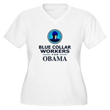Blue Collar Workers for Obama T-Shirt