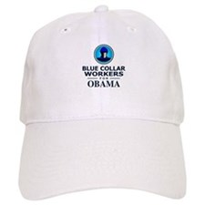 Blue Collar Workers for Obama Baseball Cap