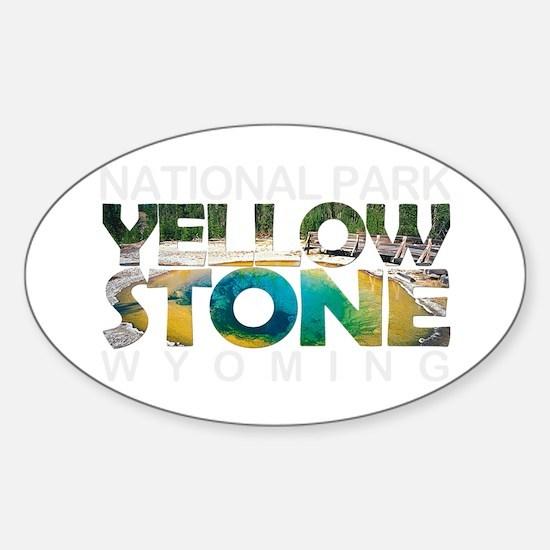 Yellowstone - Wyoming, Montana, Idaho Decal