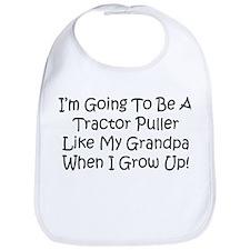 Tractor Puller Like Grandpa Bib