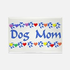 Dog Mom Rectangle Magnet (100 pack)