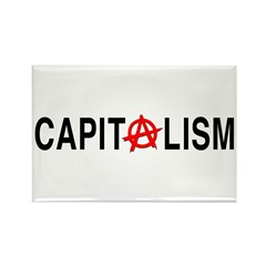 Anarcho Capitalism Rectangle Magnet (100 pack)