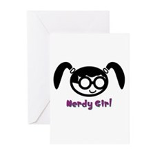 Nerdy Girl Greeting Cards (Pk of 10)