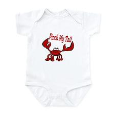 Pinch Me Smiling Crawfish Infant Bodysuit