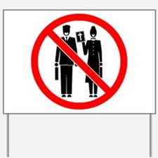 No Preaching Yard Sign